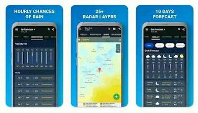 Aplikasi Ramalan Cuaca - 1Weather