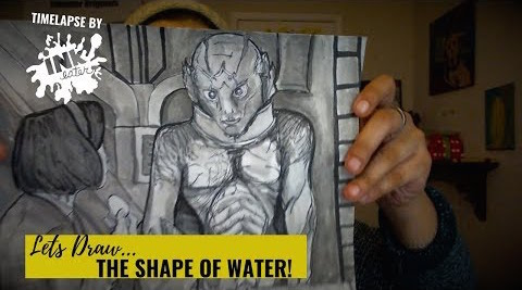I Watched and Drew The Shape of Water Timelapse