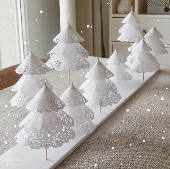 árvore de natal delicada