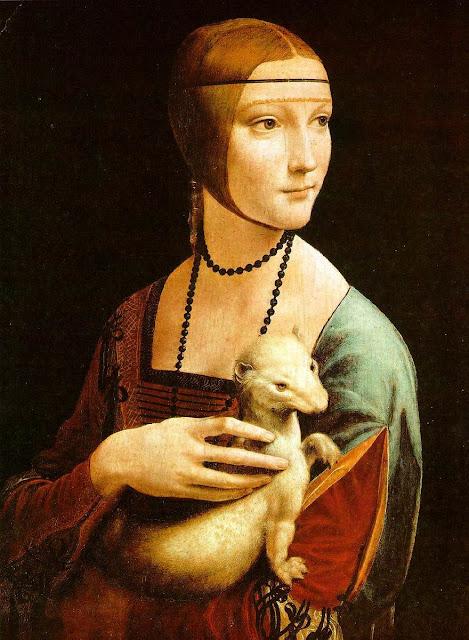 dame à l'hermine, Leonard de Vinci