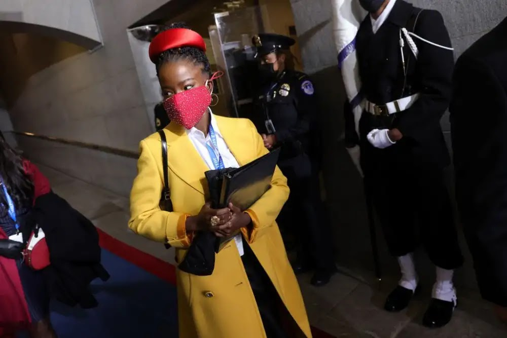 Amanda Gorman, a young woman who turns heads at Biden's inauguration, who is she?
