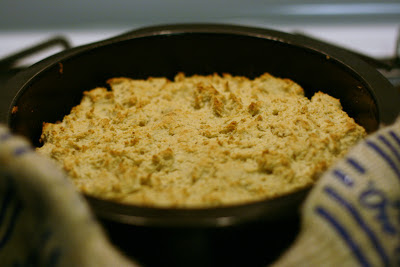 Recipe to make homemade masa cornbread from scratch. This is a naturally gluten free, nutty cornbread that is super easy to make and absolutely delicious!