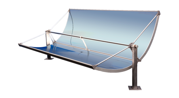 Solar energy collectors, types of solar energy collector