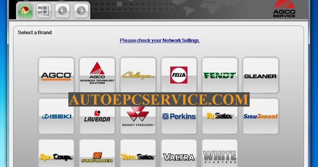 autoepcserviceheavyequipment: AGCO EDT (Electronic Diagnostic Tool