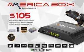 AMERICABOX S105 NOVA ATUALIZAÇÃO V2.49 - 26/08/2020
