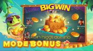 Cara dapat koin higgs domino gratis