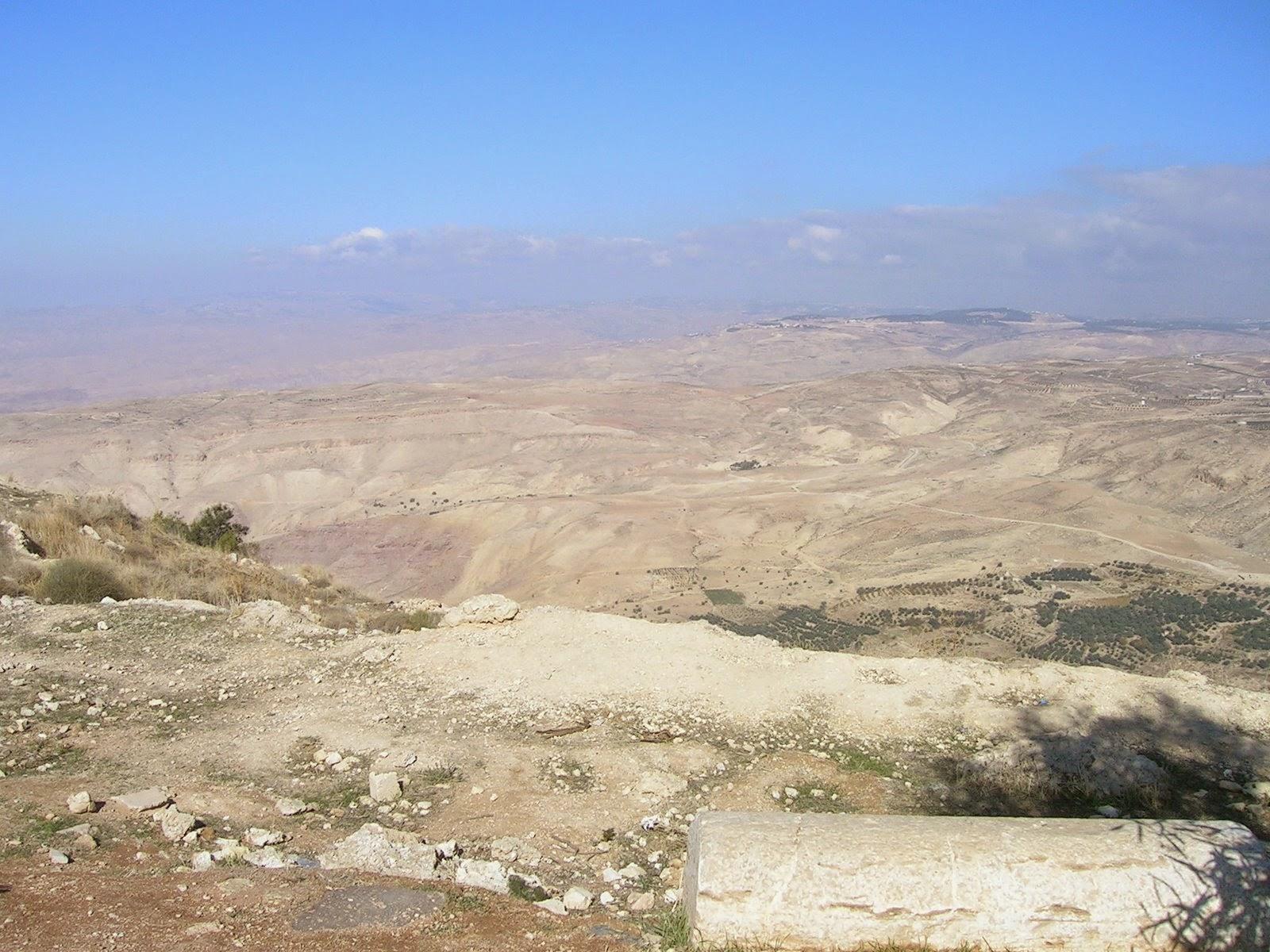 Giordania Il Monte Nebo