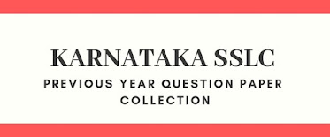 Download SSLC/10th Class Previous Years' Question Papers