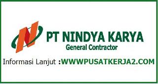 Lowongan Kerja BUMN PT Nindya Karya SMK D3 Desember 2019