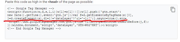 مشكلة اضافة شفرة Google Tag