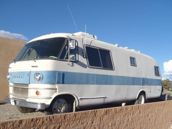 Used rvs vintage motorhome 1972 travco 270 for sale by owner for Motor home for sale by owner