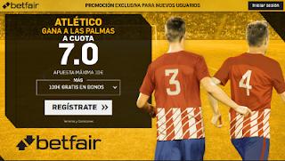 betfair supercuota victoria de Atletico a las Las Palmas liga 26 agosto