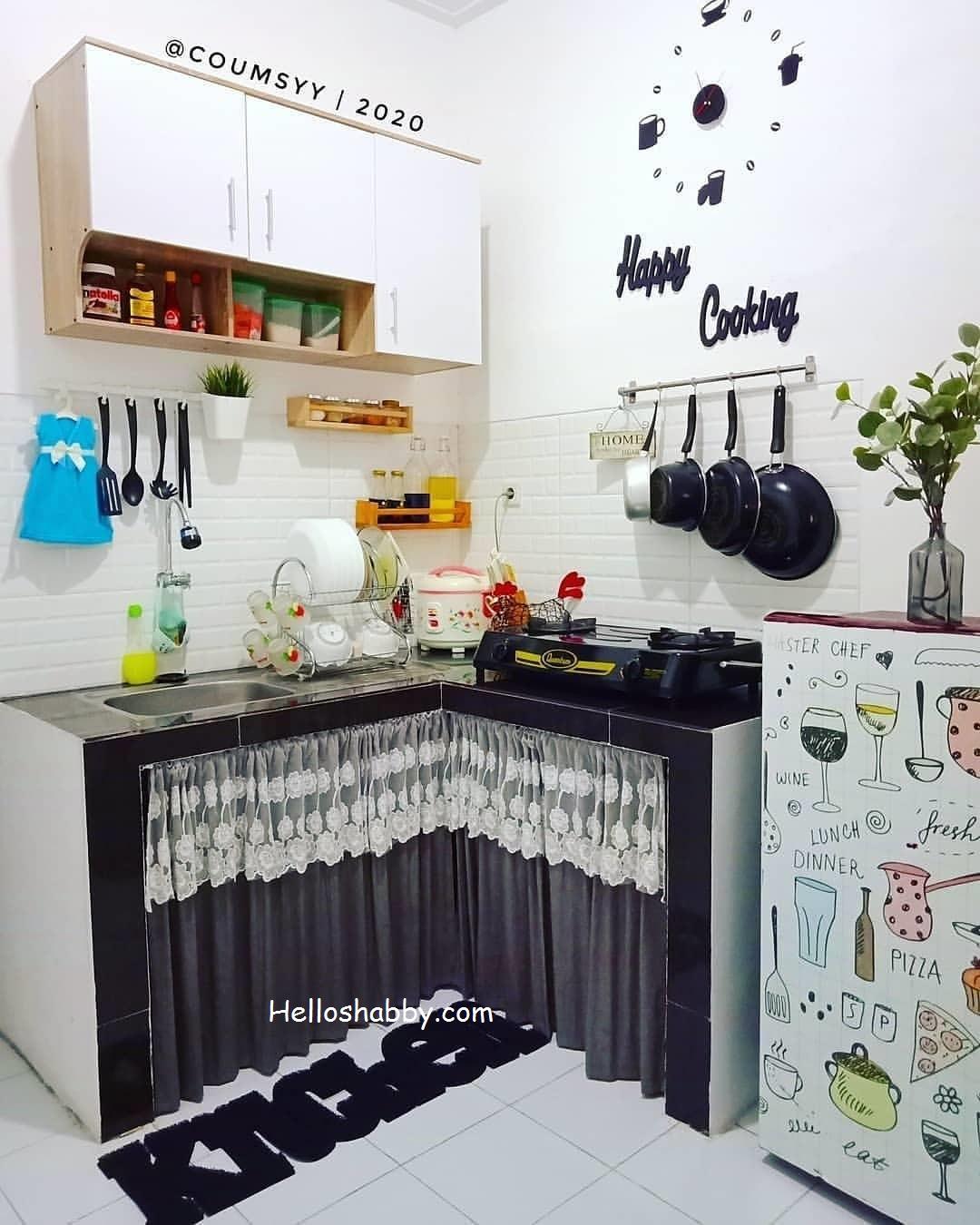 Kreatif 6 Desain Dapur Minimalis Ukuran 2 X 2 M Mungil Yang Bisa Dicontoh Helloshabby Com Interior And Exterior Solutions Dapur ukuran 2x2 meter