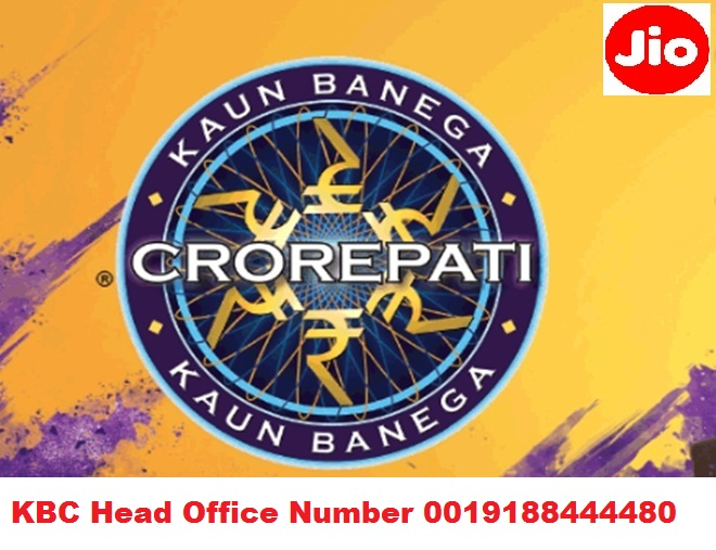 KBC Head Office Numbers Are 0019188444480