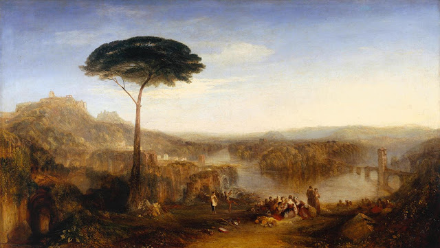 Childe Harold's Pilgrimage, by William Turner, Italy, 1832 (Image (c) Tate, London 2014)