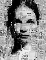 newspaper art
