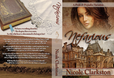 Wraparound Book Cover - Nefarious by Nicole Clarkston