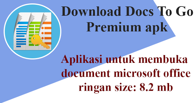 docs to go premium key apk icon