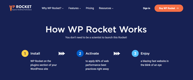 Wp Rocket Is Easy To Setup