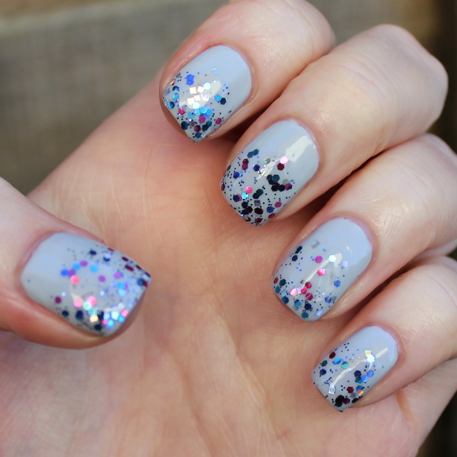 Dahlia Nails: Bedazzled