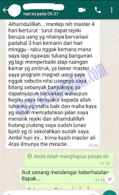 testimoni the miracle ali ma'ruf