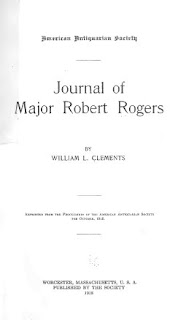 Journal of Major Robert Rogers