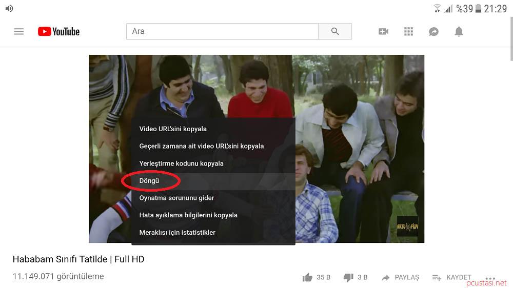 Cep Telefonunda Youtube Arka Planda çalma 2018