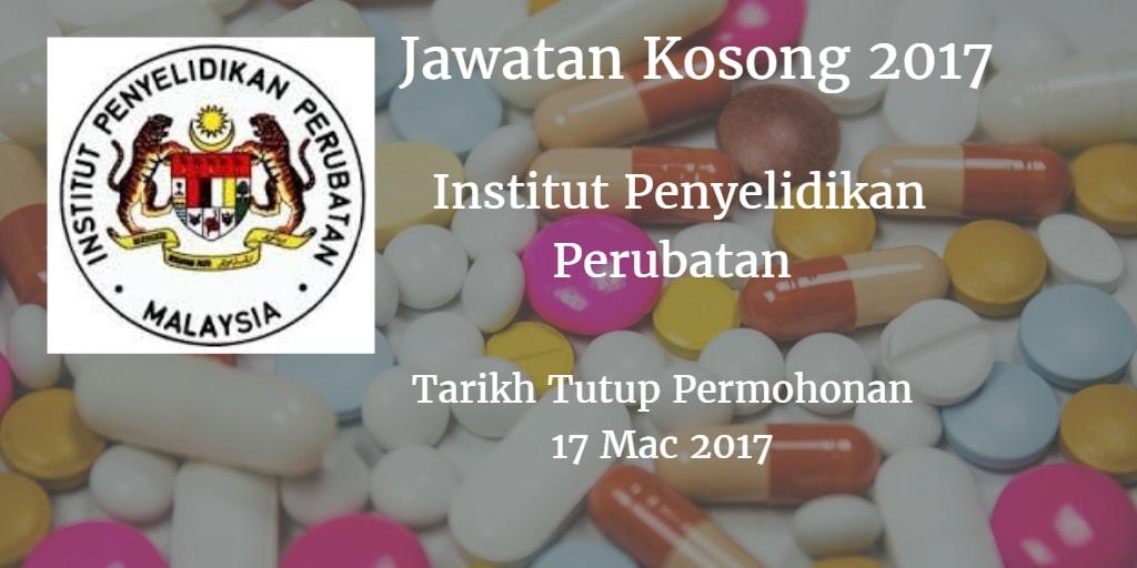 Jawatan Kosong IMR 17 Mac 2017