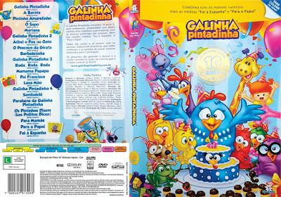 Filme Galinha Pintadinha 10 Anos DVD Capa