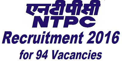 NTPC Recruitment 2016
