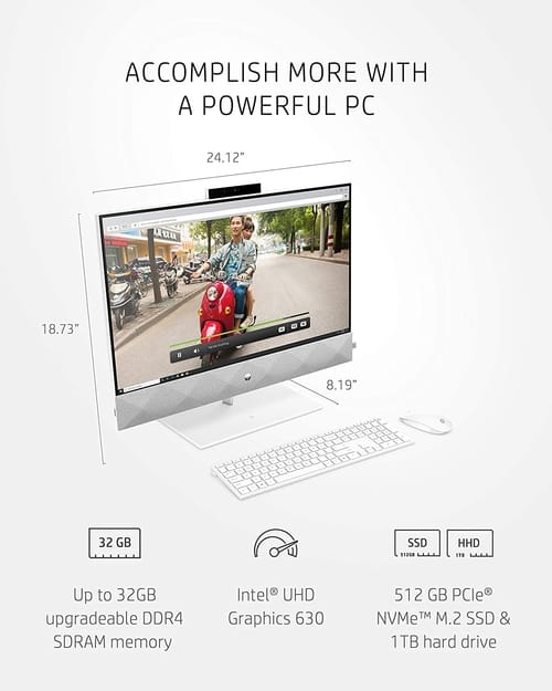 HP 27-d0072 Pavilion 10th Gen All-in-One PC