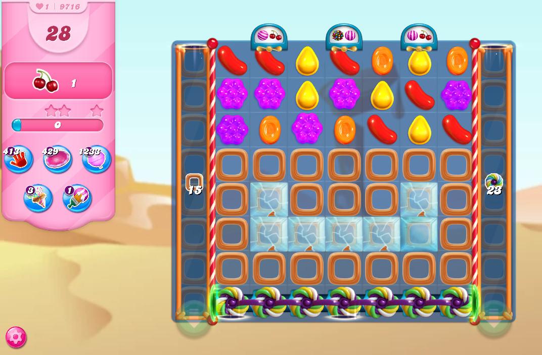 Candy Crush Saga level 9716