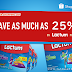 Shopee X Lactum: Get up to 25% DISCOUNT on LACTUM products this SHOPEE 9.9 SALE!