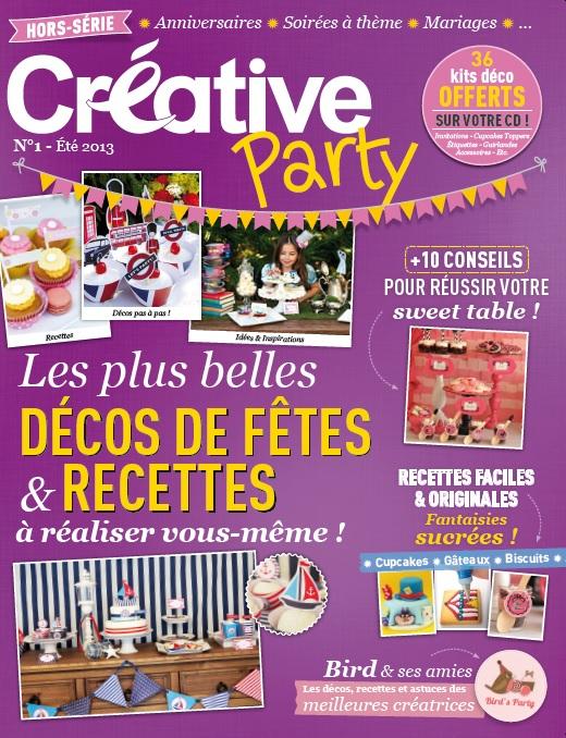 Notre Co-édition du 1er Hors-Série de Créative Magazine | BirdsParty.fr