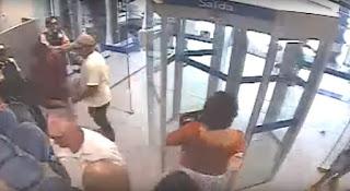 Vídeo mostra ação de bandidos em assalto a Caixa da UFCG; veja