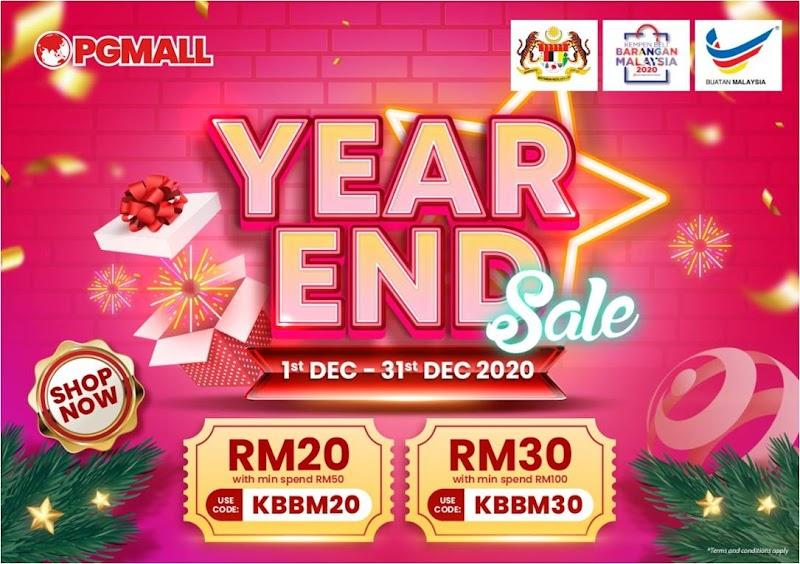 PG Mall Year End Sales Kini Bermula, Berbaloi Untuk Berbelanja