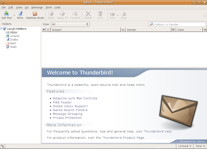 Cara Setting Email Client Dengan ThunderBird
