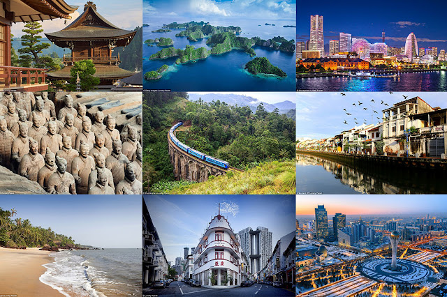 Top Five Places to See in Asia