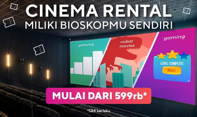 cinema rental sewa bioskop jakarta