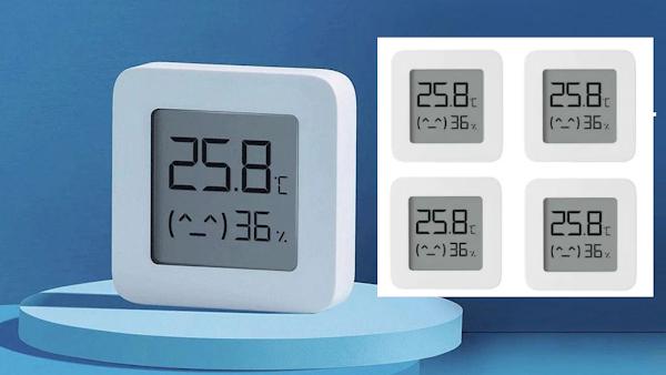 4 termómetros e medidores de humidade da Xiaomi a apenas 12.4€