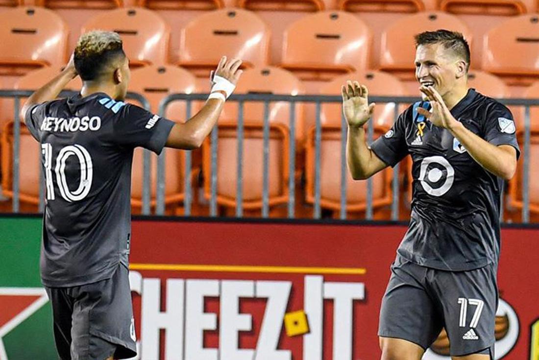 Bebelo Reynoso marca un golazo de tiro libre pero Minnesota vuelve a perder en la MLS