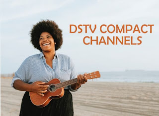 Dstv compact channels in Kenya woman