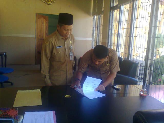 Sekwan Aceh Singkil Di Sertijabkan