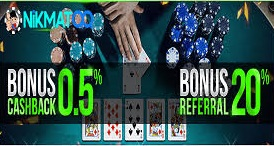 Nikmatqq.net - Agen Poker Online Terpercaya 2018 Yang Paling Rekomended