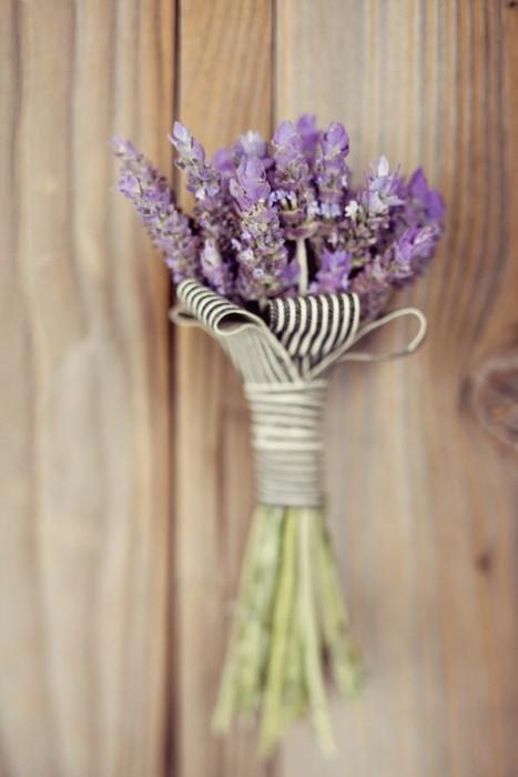 lavender boutonniere - photo #14