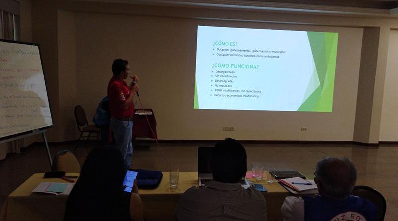 Primer Encuentro Nacional de Sistemas de Urgencias de Salud organizado por el Ministerio de Salud