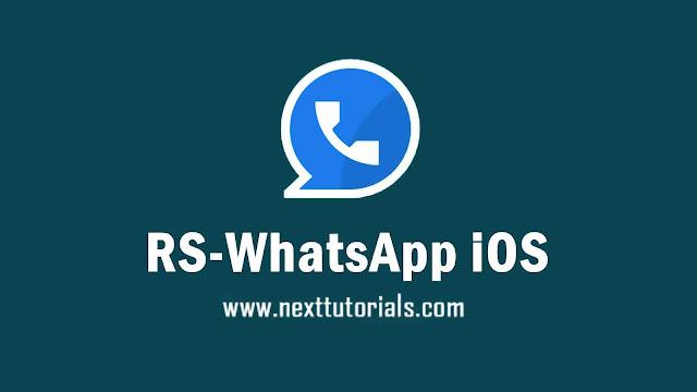 RS WhatsApp iOS v8.93 Apk Mod Latest Version Android,Install Aplikasi RSWA iOS Versi Terbaru 2021,tema rs whatsapp ios keren,wa mod anti banned,