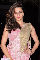 Taapsee Pannu in Pink saree ~  Exclusive Galleries 001.jpg