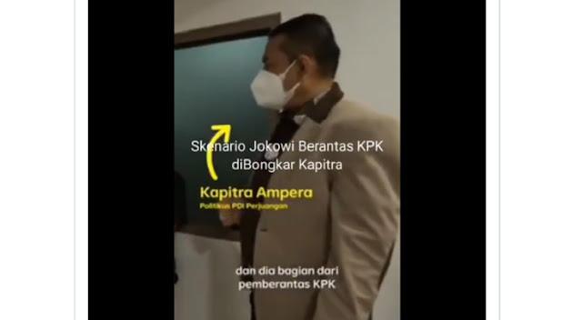 Politikus PDIP Blunder Sebut Jokowi Pemberantas KPK, Warganet: Itu Omongan Jujur