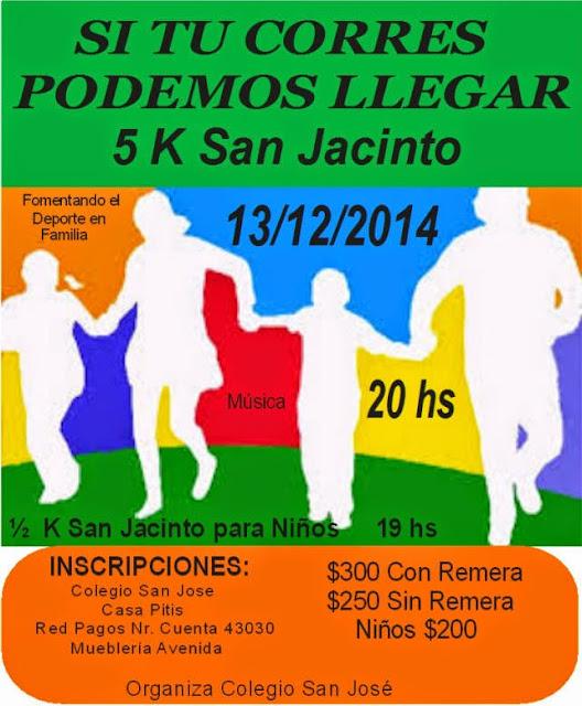 5k Podemos llegar en San Jacinto (Canelones, 13/dic/2014)